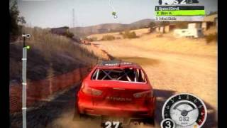 Colin McRae: DiRT 2 - PC LAN Gameplay (crashes and random clips)