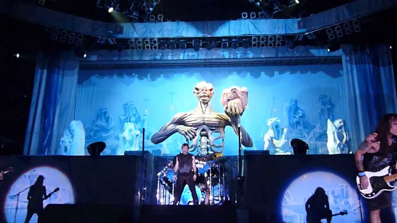 IRON MAIDEN - Frankfurt 12.06.2013 - Iron Maiden Eddie on ...