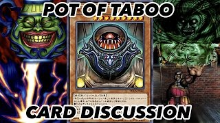 Pot of Taboos Card Discussion - IT