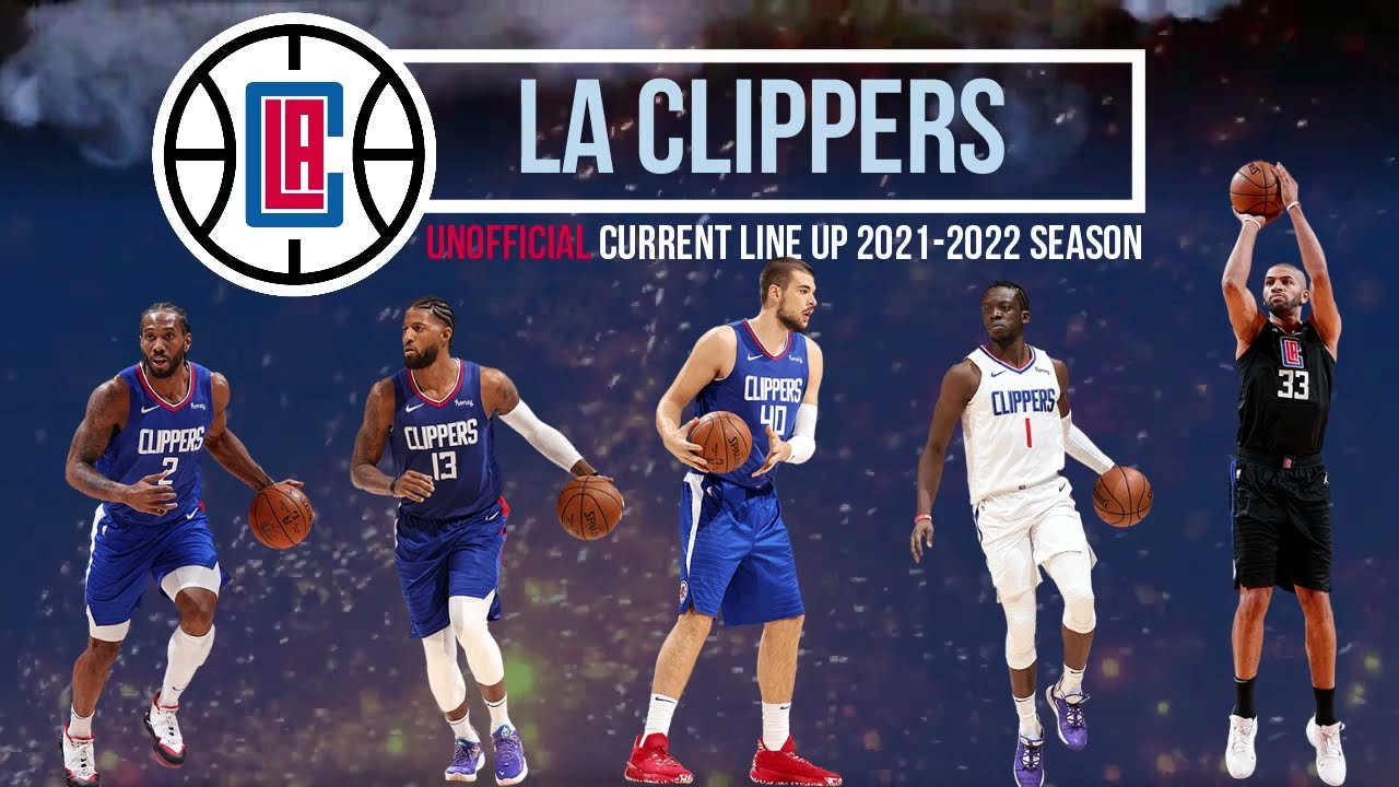 UNOFFICIAL: LOS ANGELES CLIPPERS ROSTER LINE UP 2021-2022 SEASON - YouTube