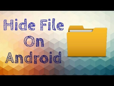 How To Hide Files In Android Phone Without Any Third Party App