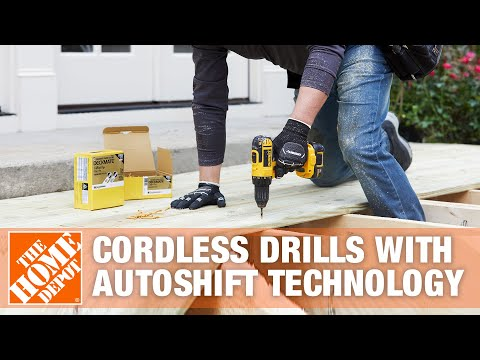 Cordless Drills With Autoshift Technology | The Home Depot