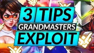 3 QUICK GRANDMASTER TIPS That You'll Wish You'd Known -  Overwatch Guide