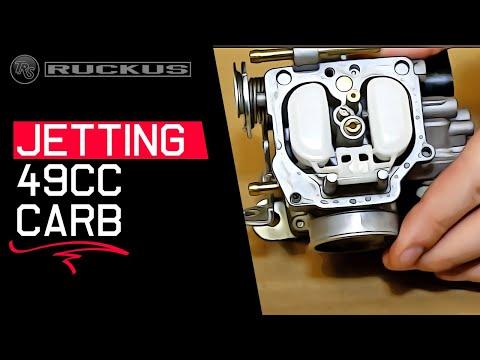 Jetting a Honda Ruckus 49cc Carb