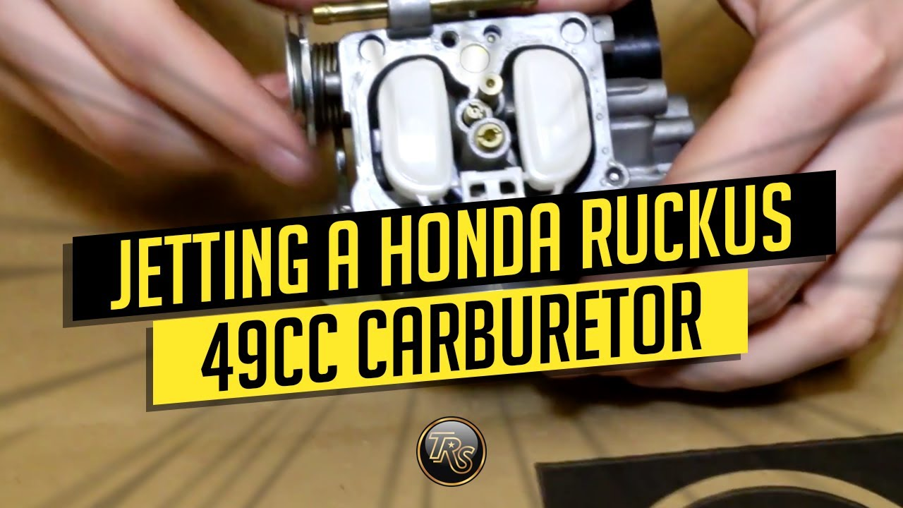 Jetting A Honda Ruckus 49cc Carb Youtube 2012 Nps50 Wiring Diagram