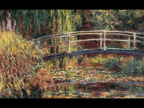 Claude Debussy : Arabesque No.1. Claude Monet : Paintings.