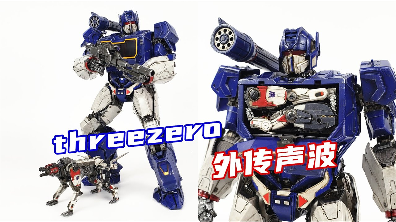 threezero Bumblebee DLX Soundwave and Ravage In-Hand Review