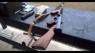First Time Shooting Thompson Carbine Tommy gun .45 ACP Tommy Gun