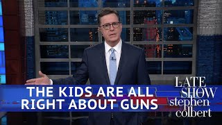 If Politicians Won't Take Action, These High Schoolers Will by : The Late Show with Stephen Colbert