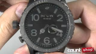 Nixon 51 30 A057 All Gunmetal Black Review By DiscountShop Com