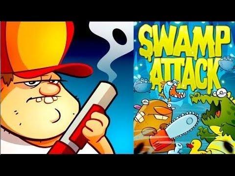 Swamp Attack - Лучший таймкиллер на Android ( Review)