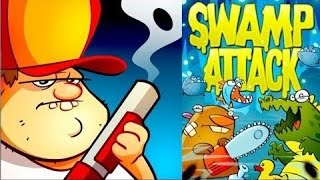 Swamp Attack - Лучший таймкиллер на Android ( Review)