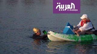 صباح العربية: السباحة السعودية مريم بن لادن