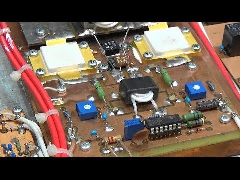 #96 Repairing a 1500 Watt MOS FET  HAM radio RF Power Amplifier