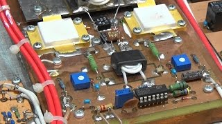 #96 Repairing a 1500 Watt MOS FET  HAM radio RF Power Amplifier