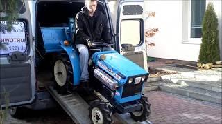 Mikro ciągnik ogrodniczy Mitsubishi D1100FD  www.akant-ogrody.pl