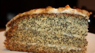 Как приготовить маковый торт?Простой рецепт!