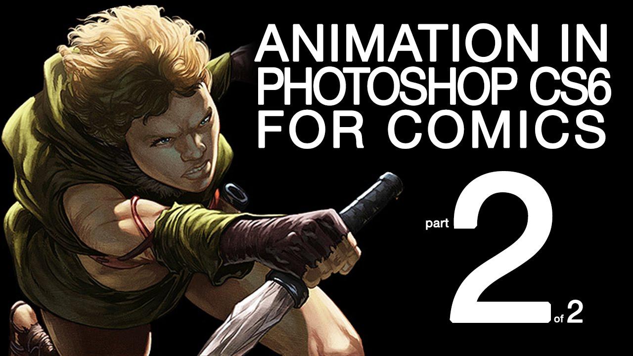 Part 2  Photoshop Animation 'live Cast' Forics Damian Wampler