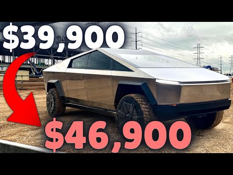 CYBERTRUCK NEWS!! The PRICE of the Tesla Cybertruck Will GO UP!