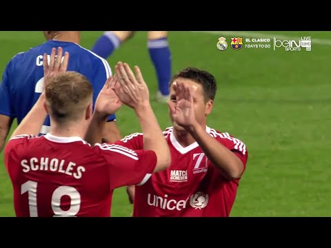 Paul Scholes vs Rest of the World XI (UNICEF Charity Match) HD 720p - English Commentary