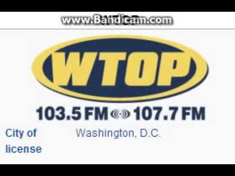 WTOP-FM 103.5 WTOP Washington, DC TOTH ID at 9:00 p.m. 7/15/2014