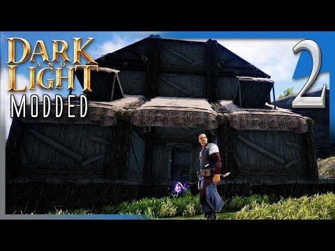 Dark and Light Modded   SETTLING IN!   DnL...