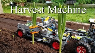 Harvest Machine -Lego Technic 42054 Claas Xerion 5000 Trac VC