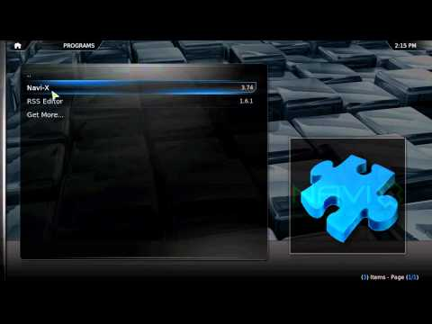 How To Get XBMC And Install Navi-X On Mac/Linux/Windows