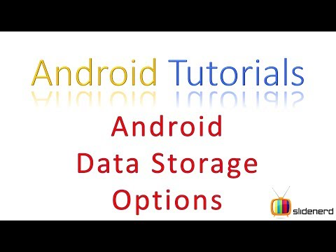 148 Android Data Storage Options  
