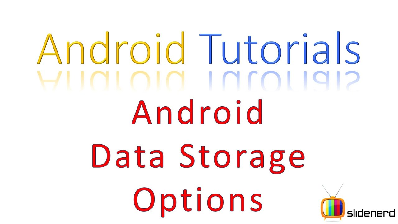 android how to set default storage