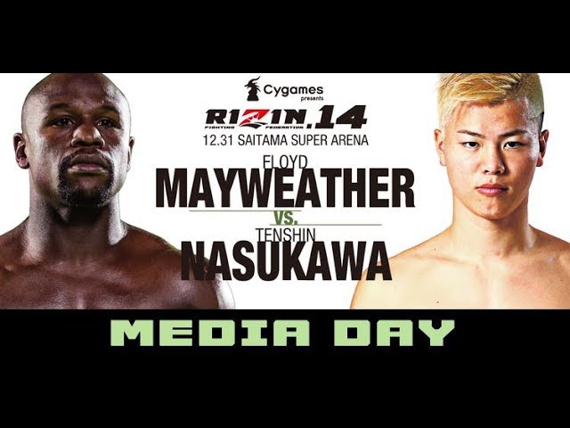 floyd-mayweather-vs-tenshin-nasukawa-rizen-14-press-conference