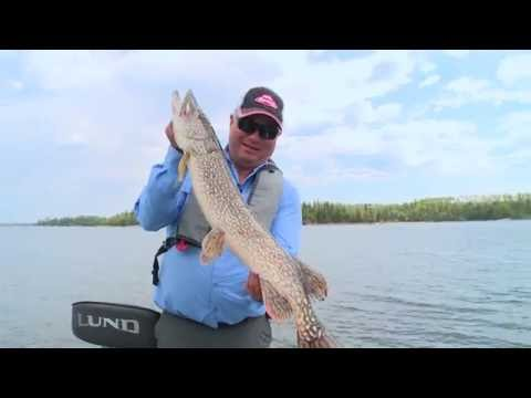 Real Fishing Show - Birch Island Pike - Bob Izumi