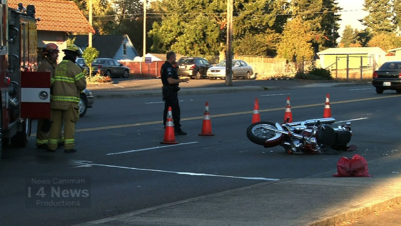 Serious Injury Car vs Motorcycle Accident 100 Block 176th Street South  Spanaway WA