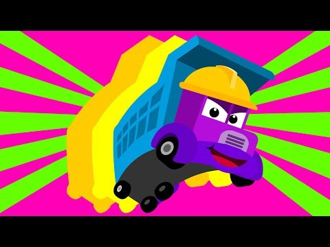 자동차 놀이 #2 | 그림자 맞추기 | 크레인 불도저 트럭 포크레인 | 영어 단어 | 티디★단어놀이