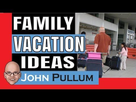 Family Vacation Ideas / Fun Mini Mystery Trips with Motivational Speaker John Pullum