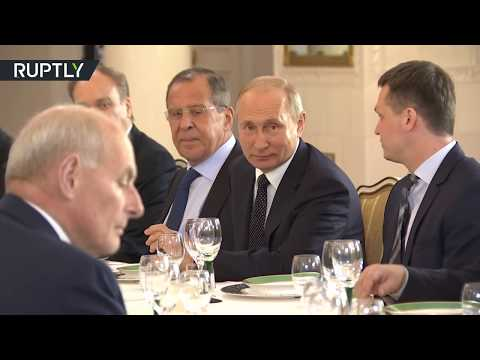 مأدبة غداء عمل للرئيسين بوتين وترامب  - نشر قبل 1 ساعة
