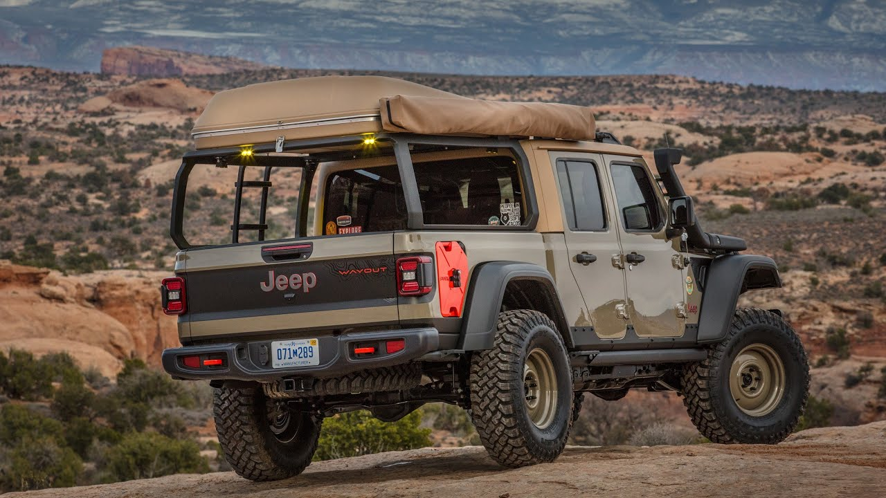 Two-Door Jeep Gladiator Truck and a Hellcat-Powered Full