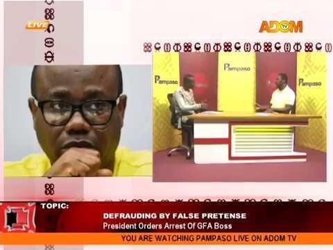 Defrauding By False Pretense - Pampaso on AdomTV (22-5-18)