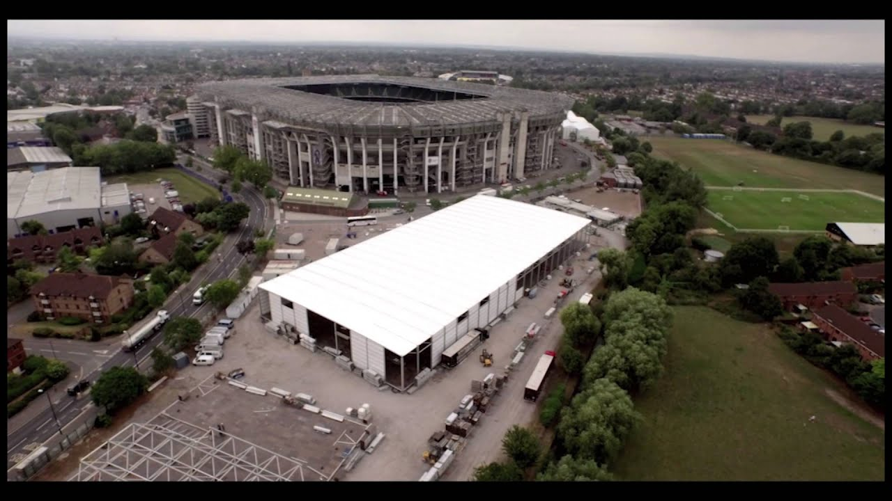 Rugby World Cup 2015 - building the official hospitality experiences - a bird's eye view