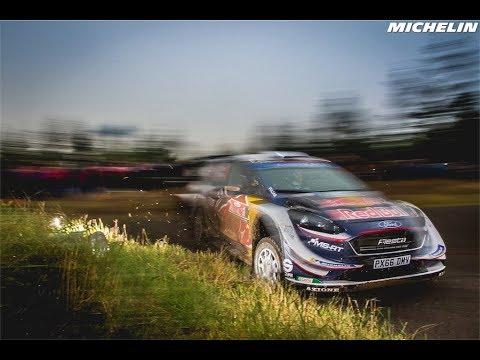 Shakedown - 2018 WRC Wales Rally GB - Michelin Motorsport