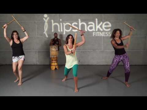 Brazillian Warrior Workout | Traditional Afro Brazilian Stick Dance Maculele