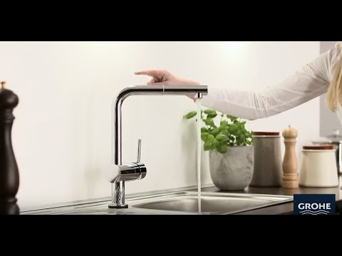grohe minta touch installation youtube. Black Bedroom Furniture Sets. Home Design Ideas