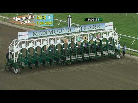 video thumbnail for MONMOUTH PARK 08- 28 20 RACE 1