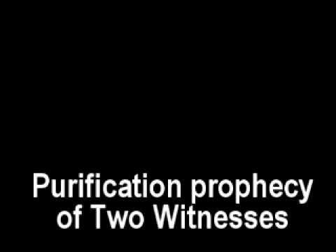Two Witnesses: The upcoming Purification