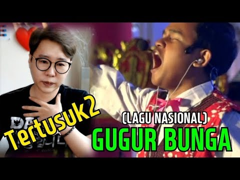 """Orang Korea Merinding Dengar """"GUGUR BUNGA"""" Lagu Wajib Nasional"""