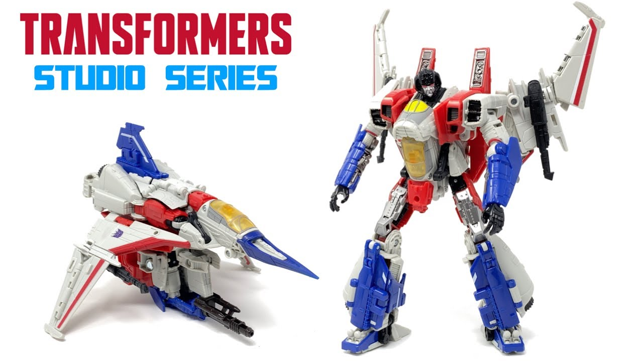 Transformers Studio Series 72 Voyager Class Starscream In-Hand Review by PrimeVsPrime