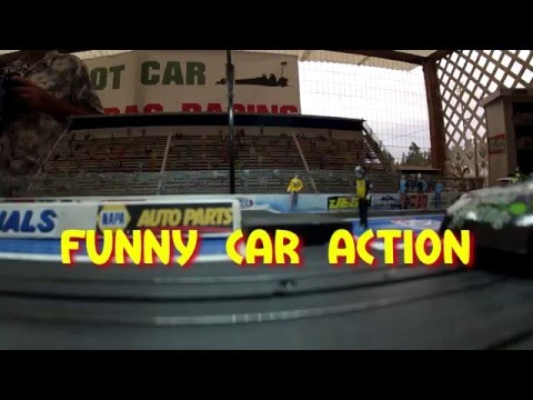 Slot Car Drag Racing NHRA Style