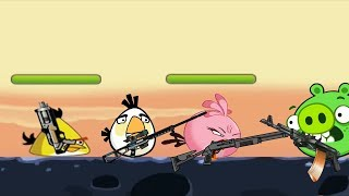 Angry Birds Ultimate Battle - FIGHTING PIGS TO RESCUE BOMBER BIRD
