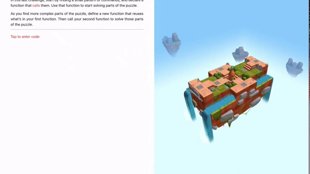 Learn to Code 1 #016: Treasure Hunt, Functions – Swift Playgrounds by Swift  Playgrounds Tutorials