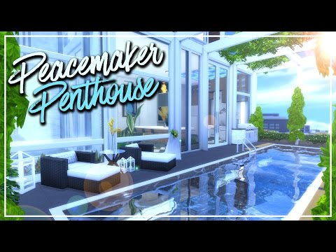 The Sims 4: Speed Build | Peacemaker Penthouse